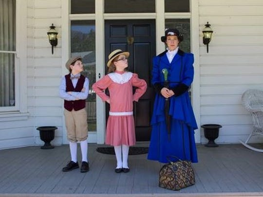 """The Trinity Players theater group performs """"Mary Poppins"""""""