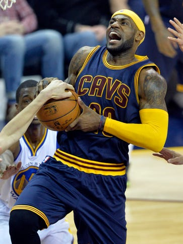 Feb 26, 2015; Cleveland, OH, USA; Cleveland Cavaliers