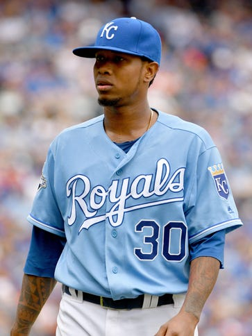 Yordano Ventura died in a car accident in his native