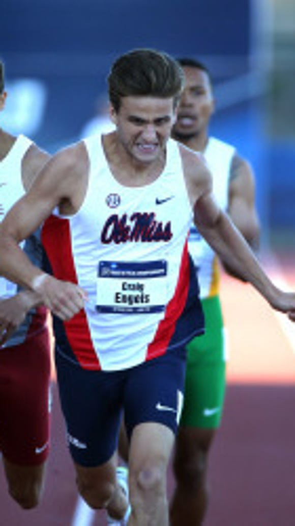 Ole Miss Track and Field at the 2015 NCAA Outdoor Track