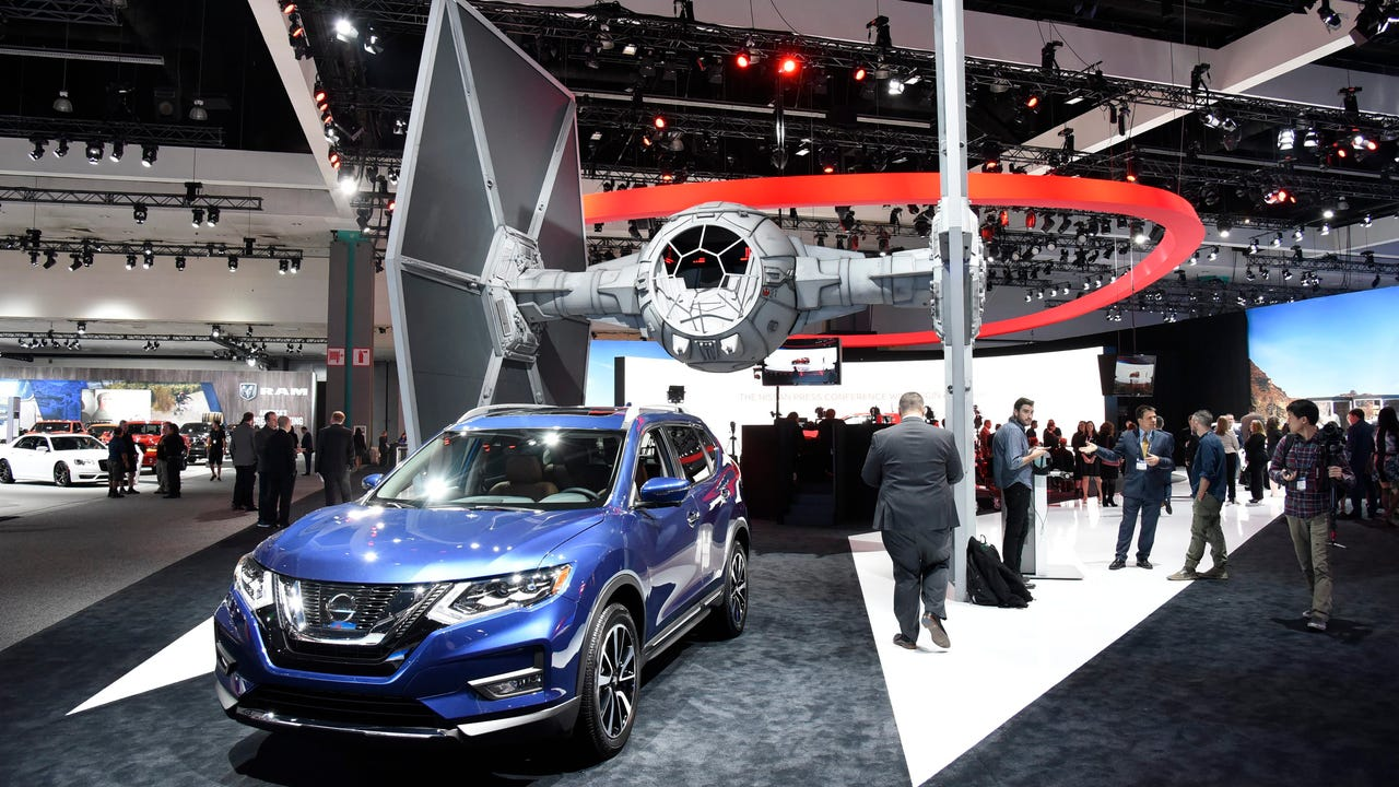Go Rogue with the new 'Star Wars'-themed Nissan