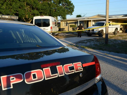 Man Barricaded in Home
