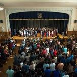 WATCH: Class of 2017 last to graduate from Landis School