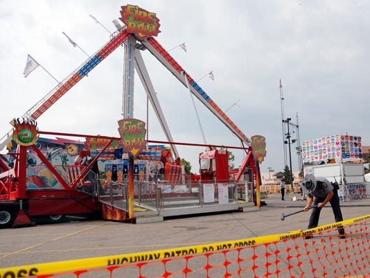 AP STATE FAIR RIDE MALFUNCTION A FILE USA OH
