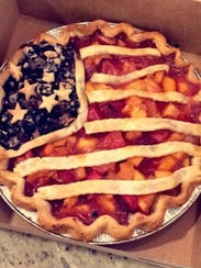 Jay McConville of Sunburst Pie Co. in Manasquan makes