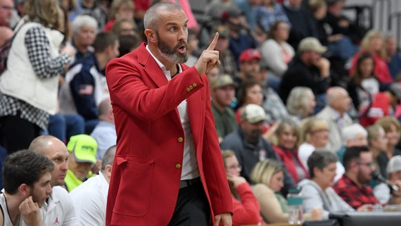 Pisgah hosted their rivals Tuscola in girls and boys