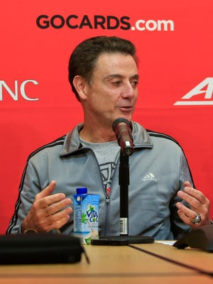 Louisville coach Rick Pitino talks     about the Cardinals' upcoming trip to Puerto Rico where the men's      basketball team will play nine games in six days.