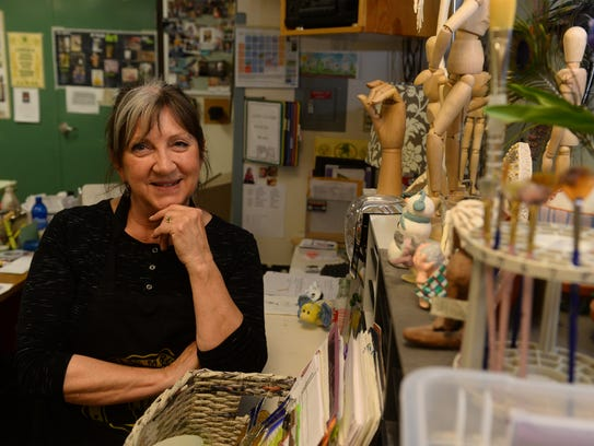 Jackie Van Heel, CMR art teacher, will retire this