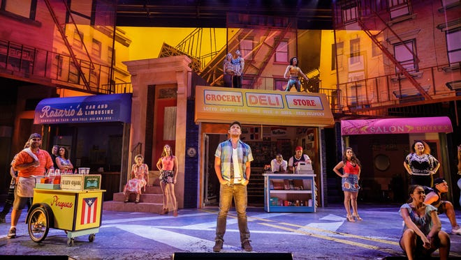 The Cast of 'In the Heights.'