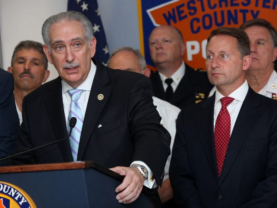 Westchester County District Attorney Anthony Scarpino