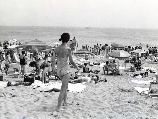 Sandy hook NJ beach 1968