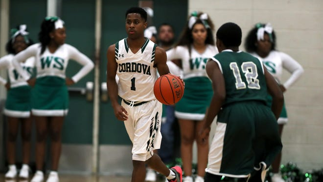 Cordova's Tyler Harris led the city scoring parade Tuesday, dropping 44 in a win over Bolton.