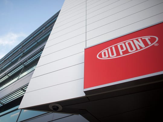 DuPont headquarters are shown on Dec. 11, 2015. DuPont