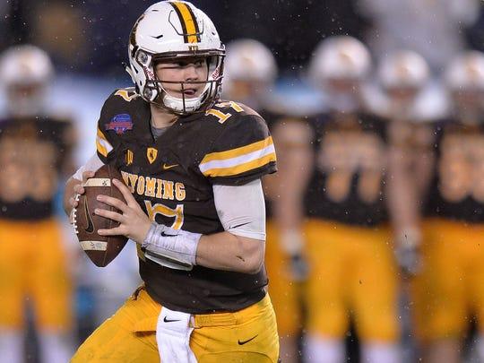 Wyoming quarterback Josh Allen (Photo: USA TODAY Sports)