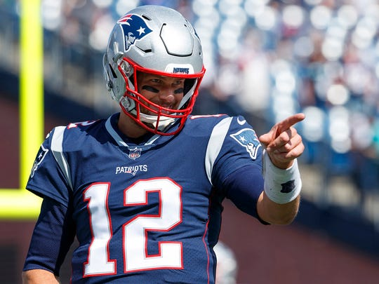 Tom Brady is a must-start this week.