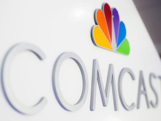 Comcast sign.