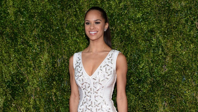 In this June 7, 2015 file photo, Misty Copeland arrives at the 69th annual Tony Awards at Radio City Music Hall, in New York.