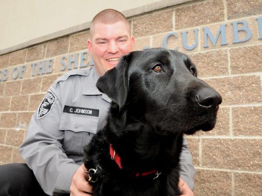Craig Johnson, of the Cumberland County Sheriff's Department,