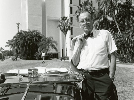 Jerome P. Keuper, Ph.D, founder of Florida Tech, in