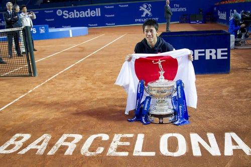 Tennis Channel Court Report: Nishikori defends title in Barcelona