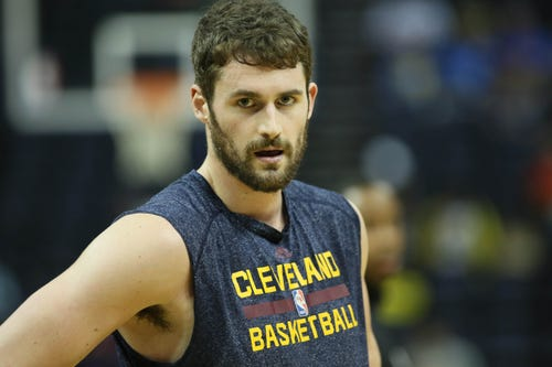 Kevin Love returns to Cavaliers for 'unfinished business'