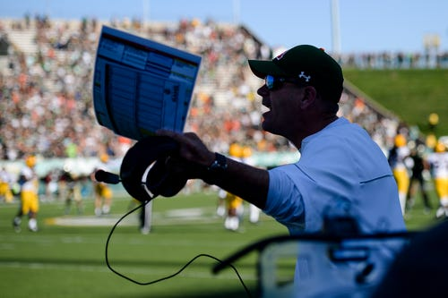 Should Mike Bobo be calling the plays for CSU football?