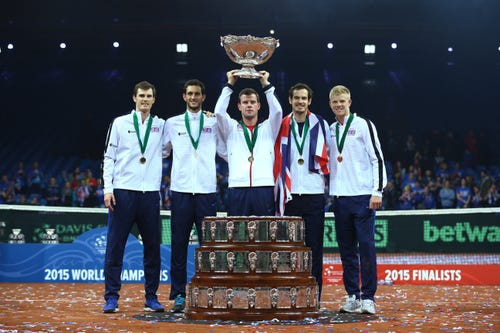 Court Report: Britain ends 79-year drought at Davis Cup