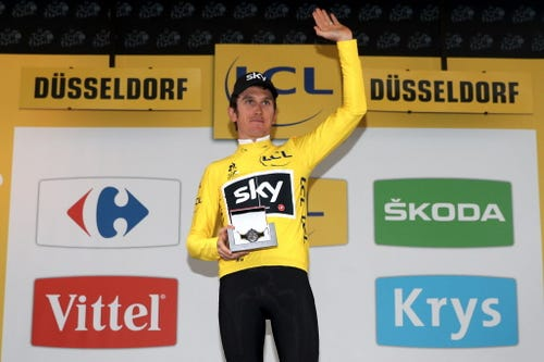Geraint Thomas Takes First Stage Of Tour De France