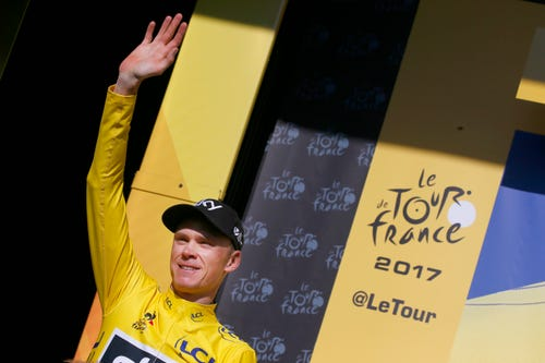The Alps Behind Him, Froome Has One Hand On Tour Win No. Four