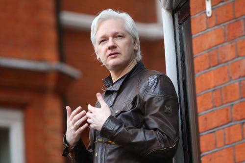 Julian Assange, WikiLeaks founder, has been cut off of Internet