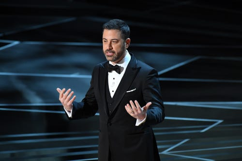 Jimmy Kimmel is the chill, happy host the show needs