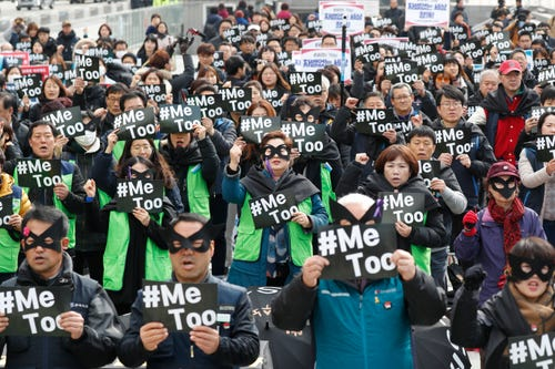 South Korea gives more jail time to harassers