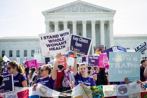 Abortion debate returns to Supreme Court in California case