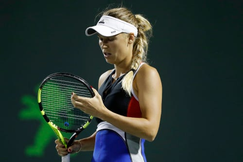 Caroline Wozniacki complains of verbal abuse by crowd at Miami Open