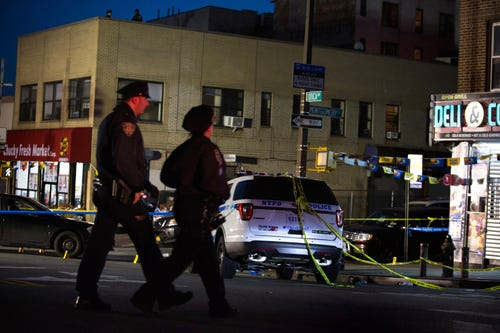 New York police fatally shoot man after mistaking pipe for gun