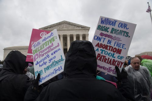 Abortion restrictions in Arkansas left intact for now by Supreme Court
