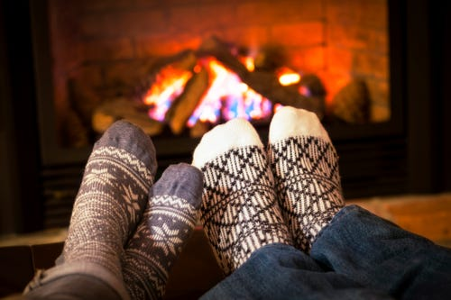 It's a happy holiday at Chelle Cordero's home when it's time to get new socks. (Photo: Elenathewise, Getty Images/iStockphoto)