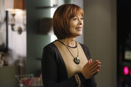 Frances Fisher, lookin' good! (Photo: Richard Cartwright, ABC)