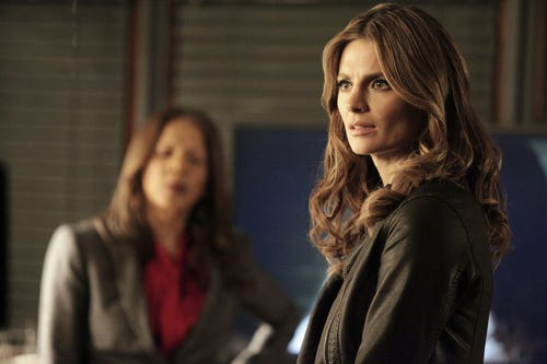 Beckett looks concerned. (Photo: Nicole Wilder, ABC)