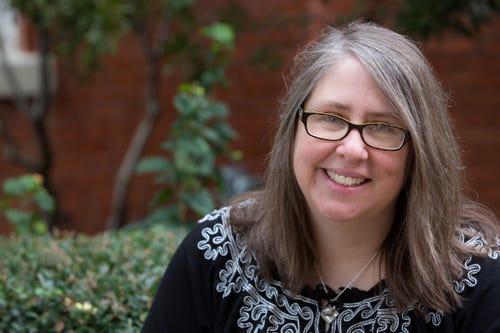 Molly Blaisdell, author of