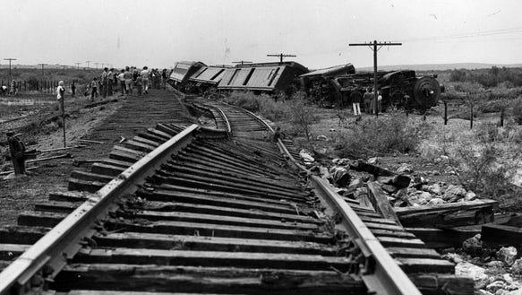 06/03/1948 Two men were injured fatally when this northbound