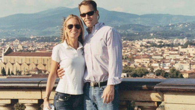 Amanda and Todd traveled to Italy in 2007 while he was in remission.