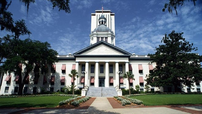 The Florida Capitol Building in Tallahassee.
