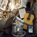 Items at Sweet Salvage in Phoenix on Thursday, July 19, 2012. Michael Schennum/The Arizona Republic