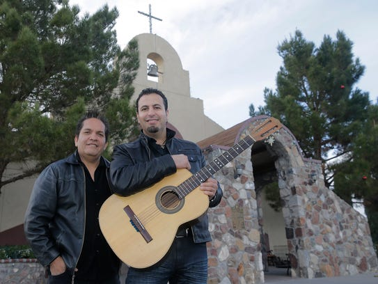 Sergio Carmona, left, and Jorge Alvidrez co-wrote the