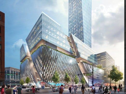 Businessman Dan Gilbert is proposing to build what