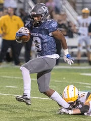 Nyzair Smith returns for Dallastown after rushing for more than 2,000 yards in 2017. DISPATCH FILE PHOTO