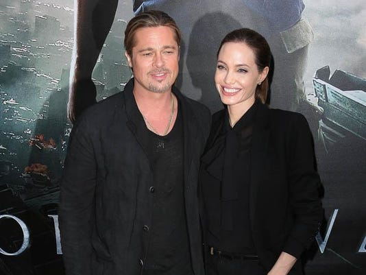 Brad Pitt and Angelina Joile