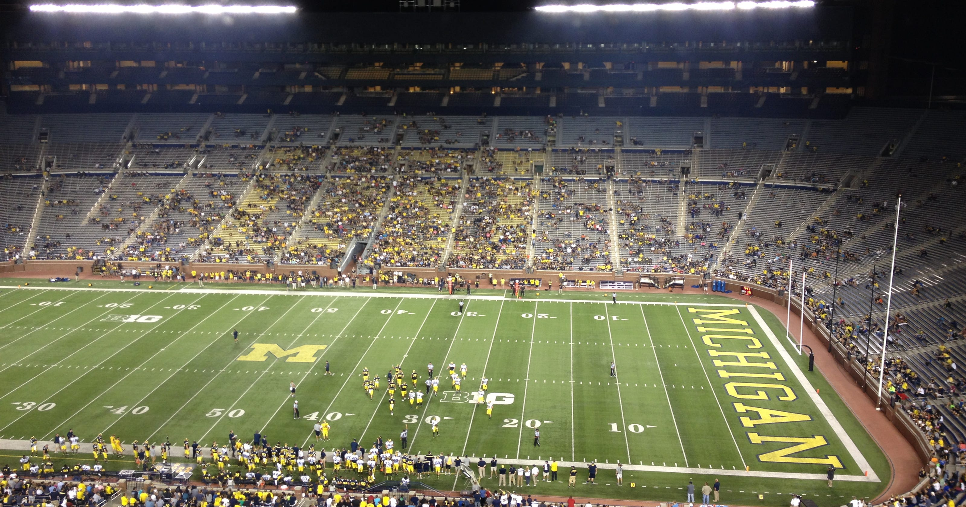 14 HS football teams to open season at  Battle of the Big House  c68687f479950