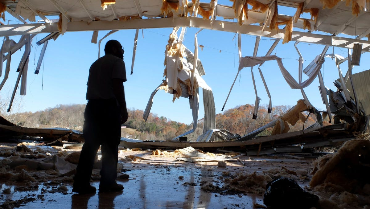 Tornadoes And Severe Weather Slam The South